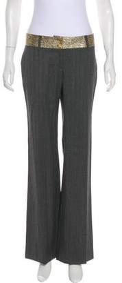Dolce & Gabbana Wool Wide-Leg Pants