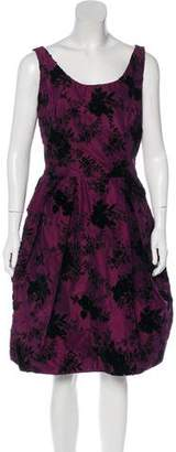 Christian Dior A-Line Patterned Dress