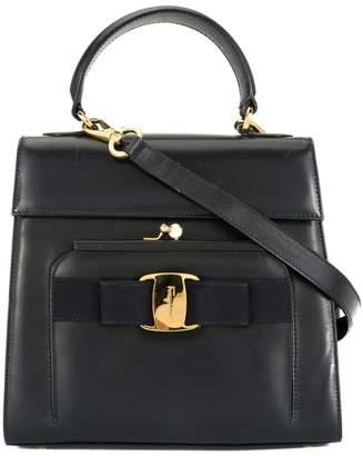 Salvatore Ferragamo Pre-Owned Vara ribbon metal clasp 2way bag