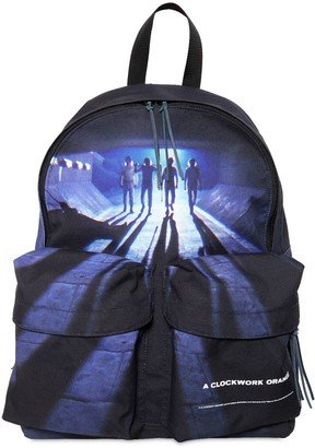 Undercover Printed Techno Canvas Backpack