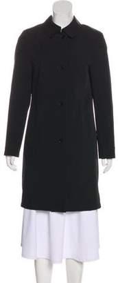 Burberry Lightweight Button-Up Coat