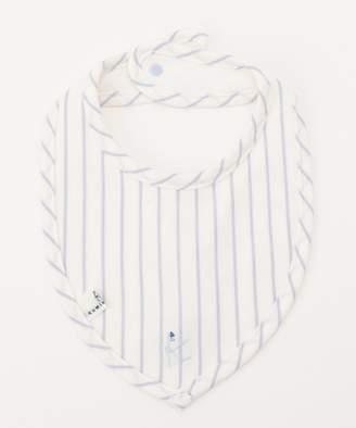 Kumikyoku (組曲) - 組曲 KIDS 【BABY雑貨】天竺ストライプ ビブ (リバーシブル)(C)FDB