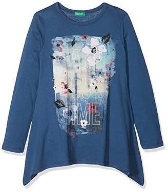 Benetton Girl's L/s T-Shirt,(Manufacturer Size: KL)