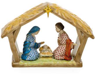 Herend Nativity Scene Christmas Decoration