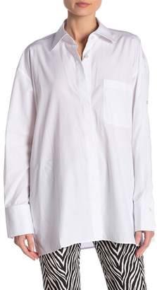 Helmut Lang Oversize Open Placket Shirt
