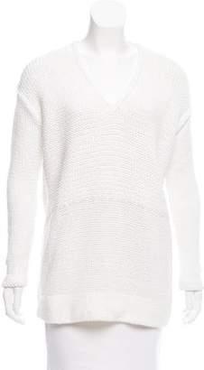 Helmut Lang Long Sleeve V-Neck Sweater