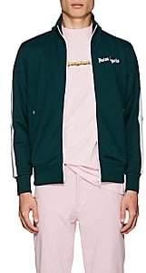 Palm Angels Men's Logo Track Jacket-Dk. Green