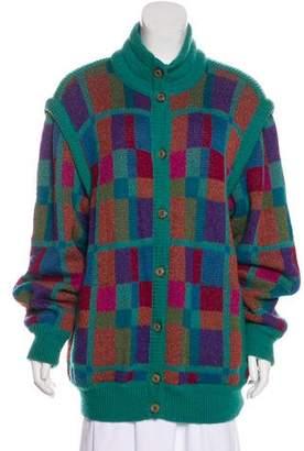 Missoni Vintage Wool & Mohair Cardigan