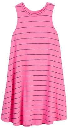 Splendid Printed Stripe Swing Dress (Big Girls)