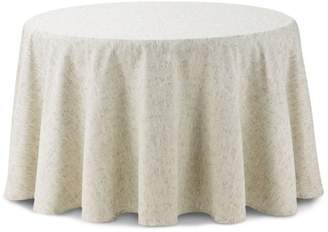 """Waterford Monroe Tablecloth, 90"""" Round"""