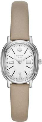 Kate Spade Women's 'Staten' Quartz Stainless Steel and Leather Casual Watch, Color (Model: KSW1434)