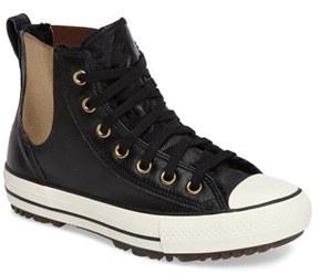 Women's Converse Chuck Taylor All Star Faux Fur Chelsea Sneaker $89.95 thestylecure.com