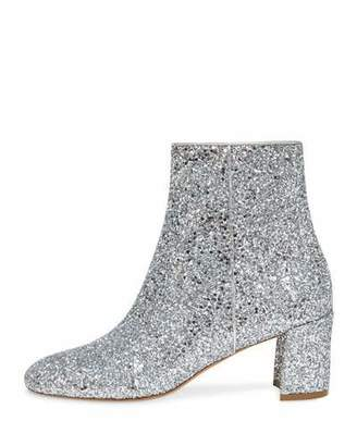 Mansur Gavriel Glitter 65mm Ankle Booties