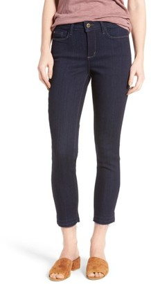 Women's Nydj Nichelle Release Hem Stretch Ankle Jeans $134 thestylecure.com