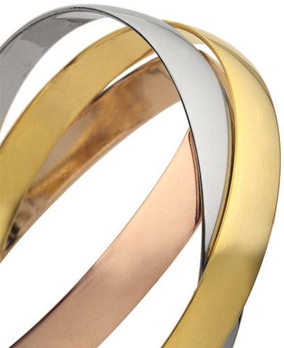 Blu Bijoux Tri-Color Bracelets