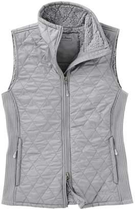 L.L. Bean L.L.Bean Women's Fleece-Lined Fitness Vest