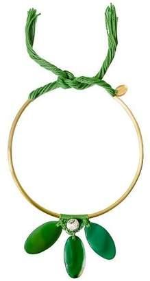 Ricardo Rodriguez Design Green Agate Necklace