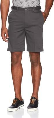 Haggar Men's Premium No Iron Khaki Stretch Flat Front Short