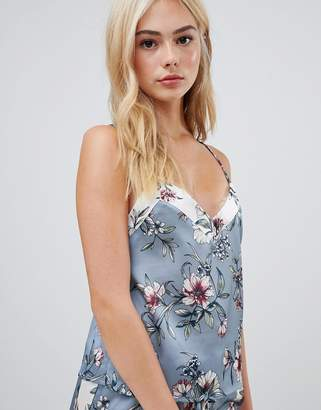 New Look Floral Satin Cami