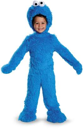 Disguise 76873S Cookie Monster Extra Deluxe Plush Costume, Small
