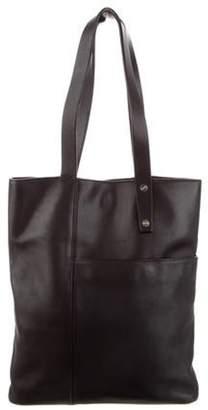 Loewe Leather Tote Bag Black Leather Tote Bag