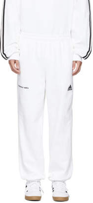 Gosha Rubchinskiy White adidas Originals Edition Sweatpants