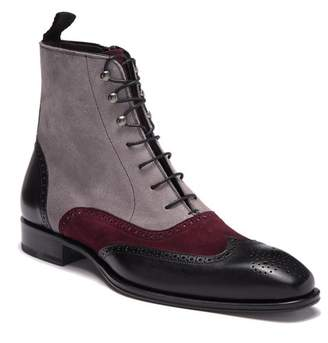 Mezlan Tall Suede Leather Boot (Men)