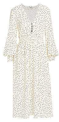 Baum und Pferdgarten Women's Romance & Rituals Adison Dot-Print Shirred-Waist Dress