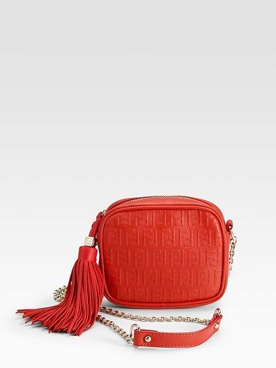 Fendi Mini Leather Shoulder Bag