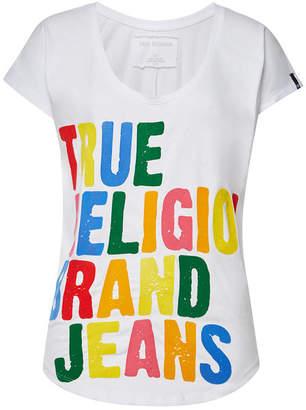 True Religion Cotton Relax Short Sleeve T-Shirt