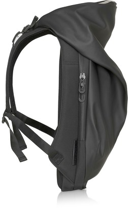 Côte&Ciel New Nile Obsidian Black Polyester Backpack