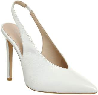 Office Hix V-Cut Slingback Point Courts