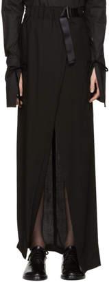 Ann Demeulemeester SSENSE Exclusive Black Infinity Skirt