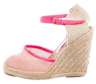 Stella McCartney Espadrille Wedge Sandals