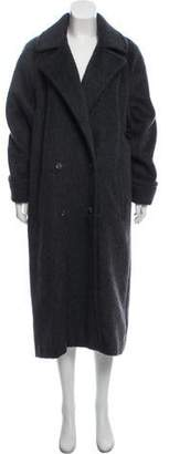 Christian Dior Double-Breasted Long Coat