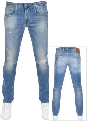 Replay Anbass Jeans Blue
