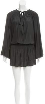 Ramy Brook Silk Drop Waist Dress