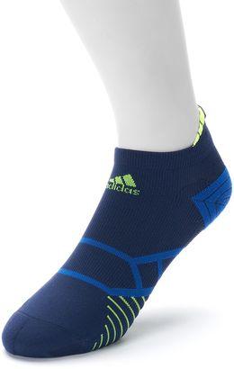 Men's adidas Energy No-Show Performance Running Socks $14 thestylecure.com