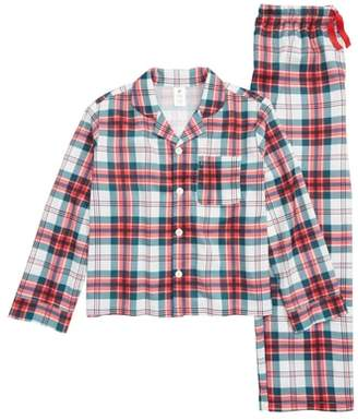 Nordstrom Two-Piece Flannel Pajamas