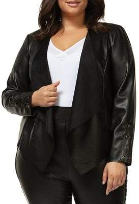 a7861619359 Plus Size Leather Jackets - ShopStyle Canada