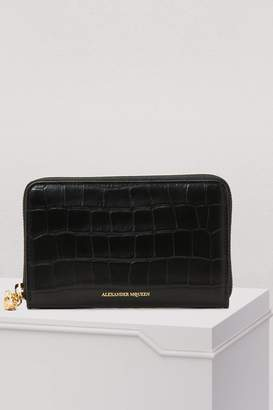 Alexander McQueen Zipped wallet
