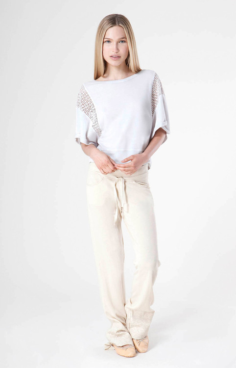 Liberty Garden - Rosie Slouch Pant in Butter