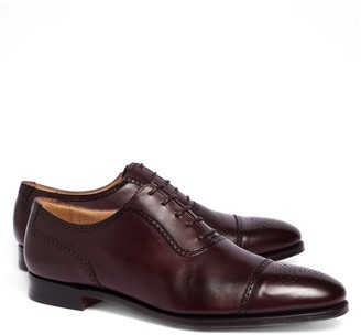 Brooks Brothers Peal & Co. Medallion Perforated Captoes
