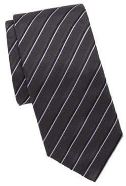 HUGO BOSS Embroidered Silk Tie