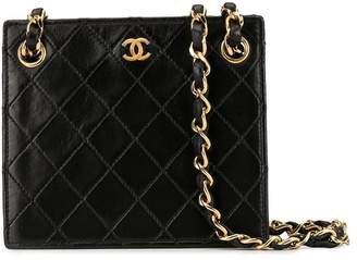 Chanel Pre-Owned diamond quilted mini bag