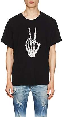 Amiri Men's Bone-Print Cotton T-Shirt