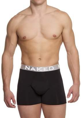 Naked Men's Active Silver Boxer Brief