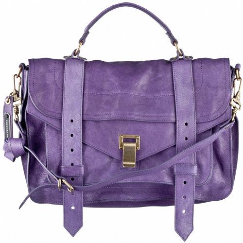 Proenza Schouler Medium Ps1 Bag In Viola