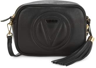 Mario Valentino Valentino By Mia Sauvage Tassel Leather Camera Bag