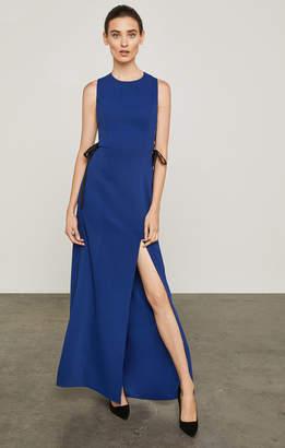BCBGMAXAZRIA Daulphine Bow-Tie Gown